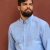 Zugeknöpftes Button down Hemd fair produziert
