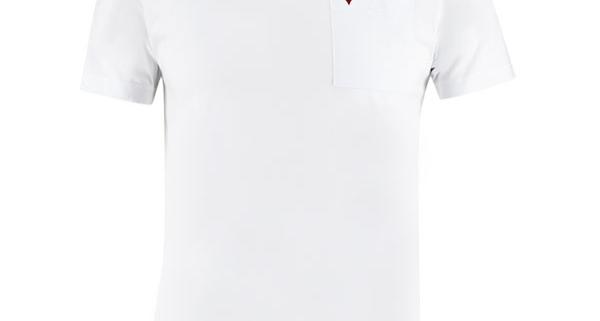weißes Herren T-shirt Basic aus Bio-Baumwolle
